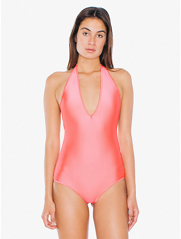 Halter One-Piece Swimsuit
