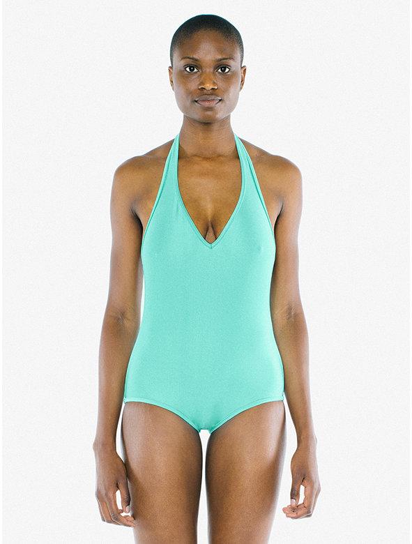 Halter One-Piece Swimsuit
