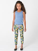 Kids Patterned Polyester Spandex Legging