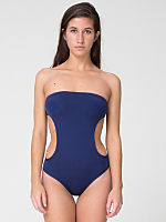 Nylon Tricot Cut-Out Swimsuit