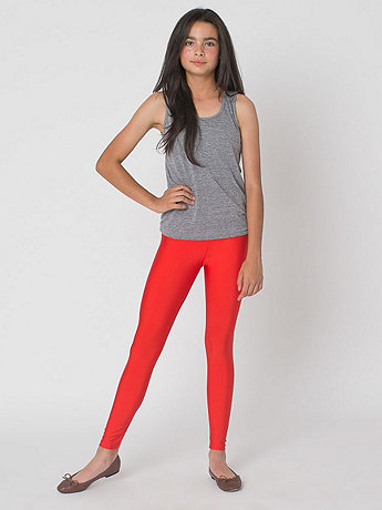 Youth Nylon Tricot Legging