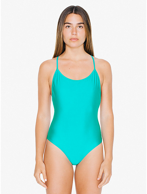 Crossback One-Piece Swimsuit