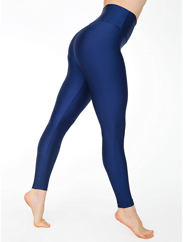 Nylon Tricot High Waist Legging