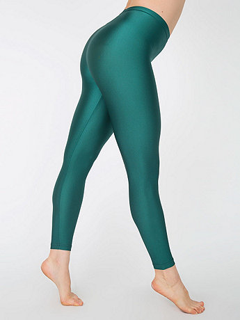 Shiny Nylon Tricot Leggings