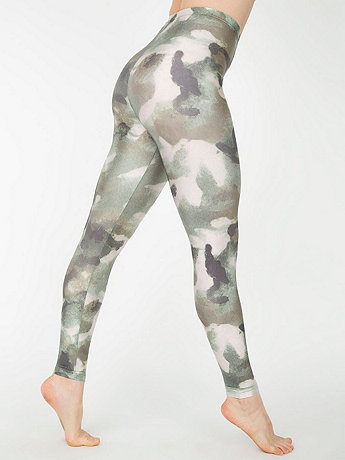 Camouflage Nylon Leggings