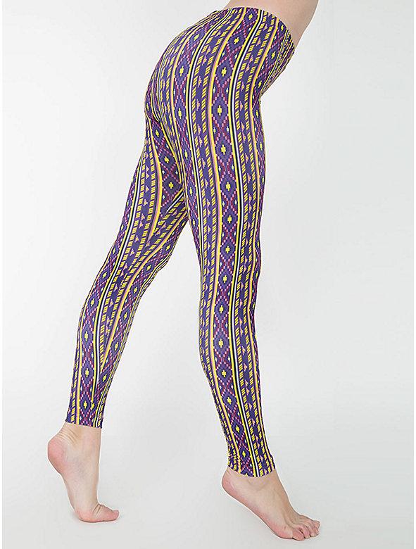 Print Nylon Leggings