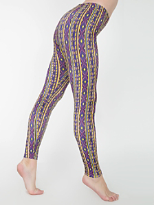 Print Nylon Leggings
