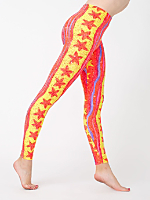 Starfish Print Nylon Leggings