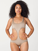 Nylon Tricot Sport Chic Swimsuit
