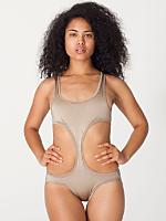 Nylon Tricot Sport Chic Swimsuit