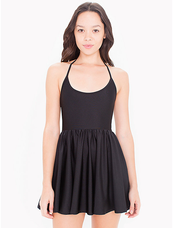 Nylon Tricot Figure Skater Dress
