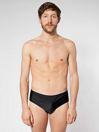Nylon Tricot Men's Swim Brief