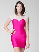 Sweetheart Two-Toned Mini Dress