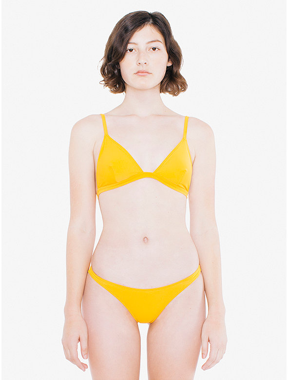 Ruched Brazilian Bikini Bottom