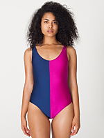 Two-Tone Malibu Swimsuit