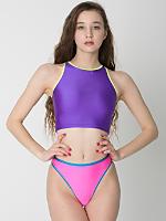 Contrast High Rise Bikini Bottom