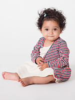Infant Stripe Cardigan