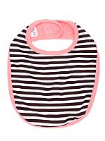 Striped Infant Reversible Bib