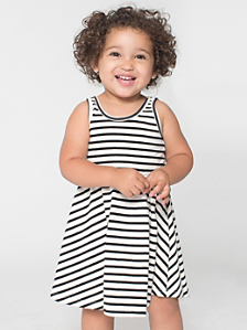 Striped Infant Skater Dress