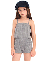 Kids' Tri-Blend Pocket Romper