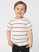 Kids' Stripe Short Sleeve T-Shirt