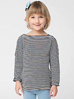 Kids' Longsleeve Boat Neck Shirt