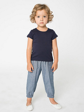 Kids Chambray Jumper Pant