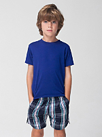 Plaid Kids Kool Short
