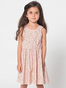 Floral Kids' Skater Dress