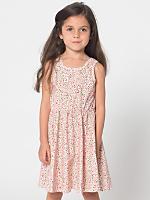 Floral Kids Skater Dress