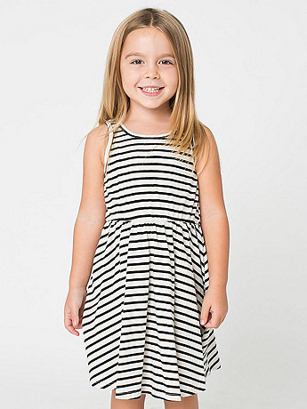 Striped Kids Skater Dress