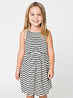Striped Kids' Skater Dress