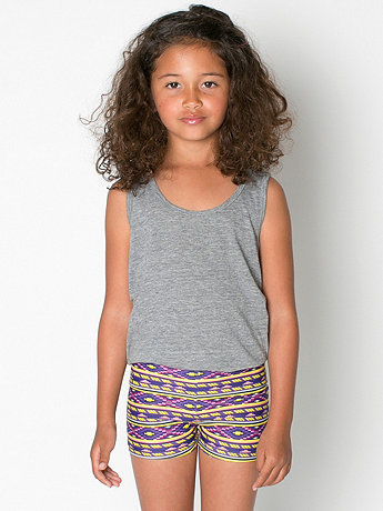 Kids Printed Cycle Short