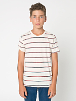 Youth Stripe Short Sleeve T-Shirt