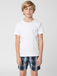 Plaid Youth Kool Short
