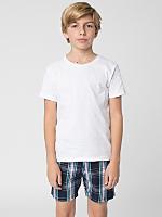 Plaid Youth Kool Short