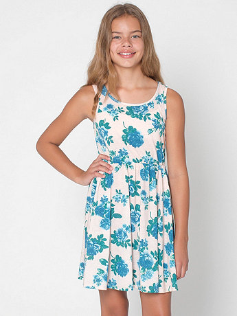 Floral Youth Skater Dress