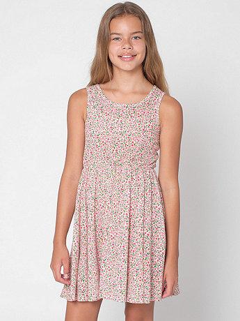 Floral Youth Skater Dress