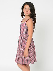 Striped Youth Skater Dress