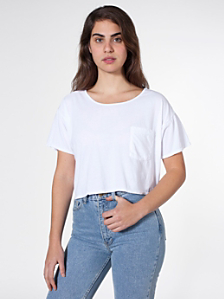 Mid-Length Pocket Tee
