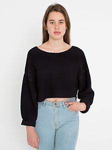 Cropped Easy Sweater