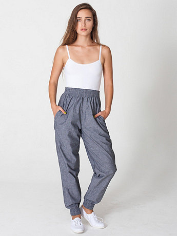 Chambray Jumper Pant