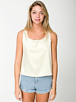 Satin Charmeuse Loose Tank