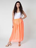 Chiffon Single-Layer Full Length Skirt