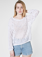 Crochet Lace Jumper