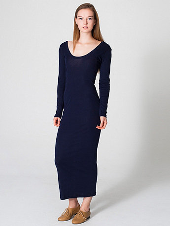 Baby Rib Long Dress