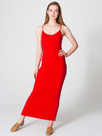 The Long Spaghetti Tank Dress