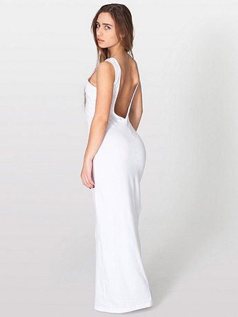 Long Scoop Back Dress