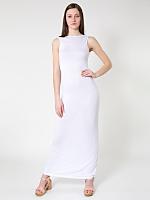Viscose Long Scoop Back Dress