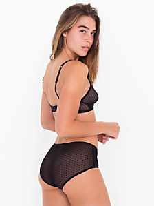 Geo Lace Hipster Brief